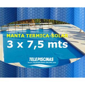 (3 x 7,5 m) Manta Solar...