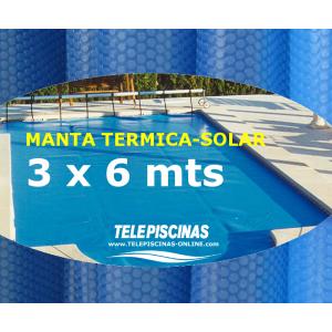 (3 x 6 m) Manta Solar...