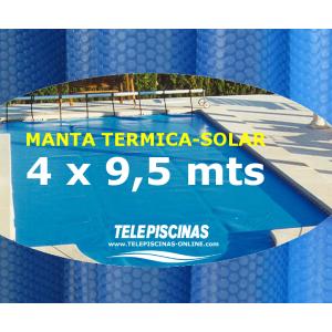 (4 x 9,5 m) Manta Solar...