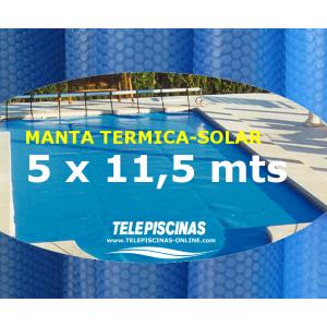 (5 x 11,5 m) Manta Solar...