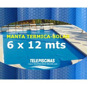 (6 x 12 m) Manta Solar...