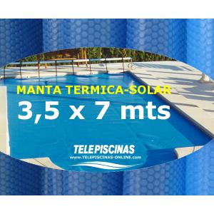 (3,5 x 7 m) Manta Solar...