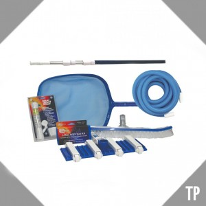 Kit de limpieza compuesto por varios productos