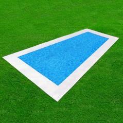 Simulación de una piscina Tetiaroa