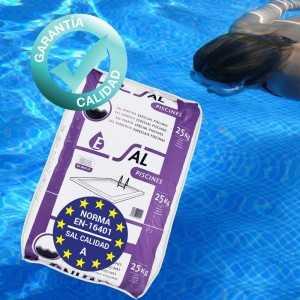 Sal de calidad para la piscina