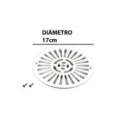 Imagen de la rejilla para el sumidero y la tornillería